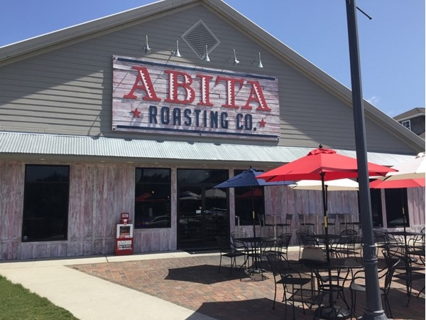 Located in downtown Covington, Abita Roasting Co is a great place for breakfast and lunch