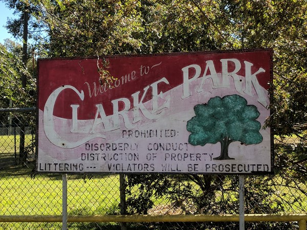 Clarke Park is located close to Downtown Hammond, featuring a large playground/basketball courts