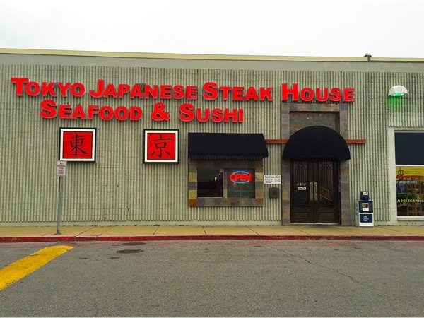 Tokyo Japanese Steak House in West Monroe offers a wide variety of delicious sushi