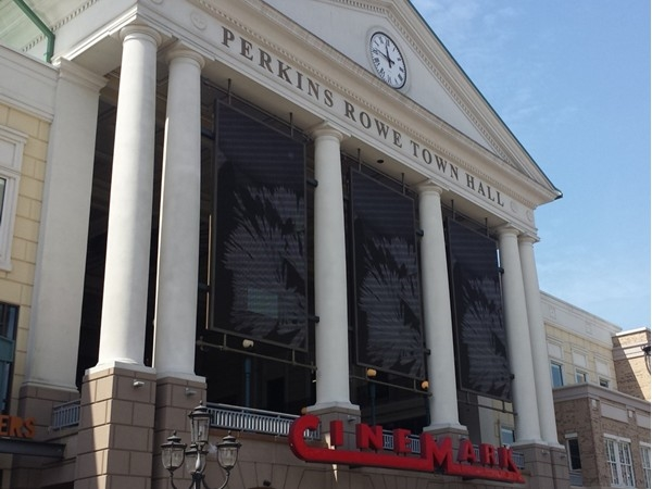 Movie theater at Perkins Rowe