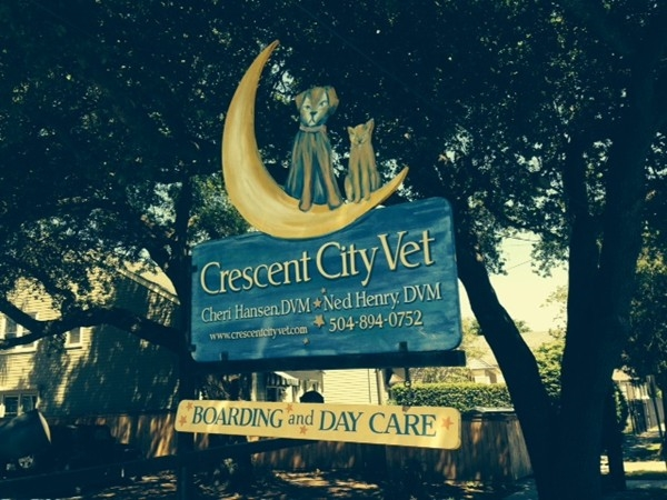 Crescent City Vet (CCV) is a wonderful place to bring your animals!