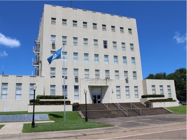 The Rayville Parish Courthouse is home to the Fifth Judicial District Court
