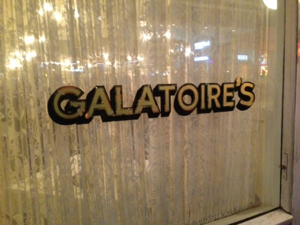 Galatoire's Restaurant located in the French Quarter