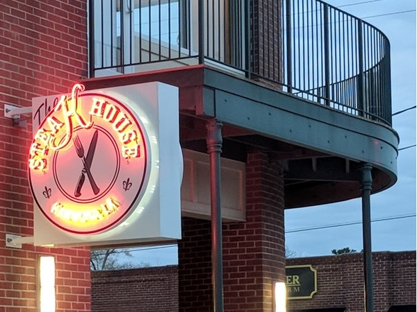 The Steak House located in downtown Hammond has premium steaks and cocktails