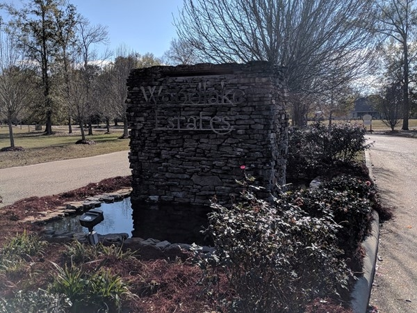 Woodlake Estates in Hammond, featuring a neighborhood pool and huge lake