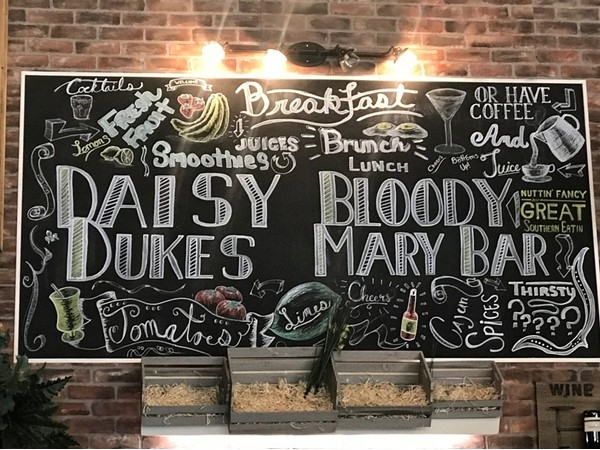 Daisy Dukes Mandeville Bloody Mary Bar
