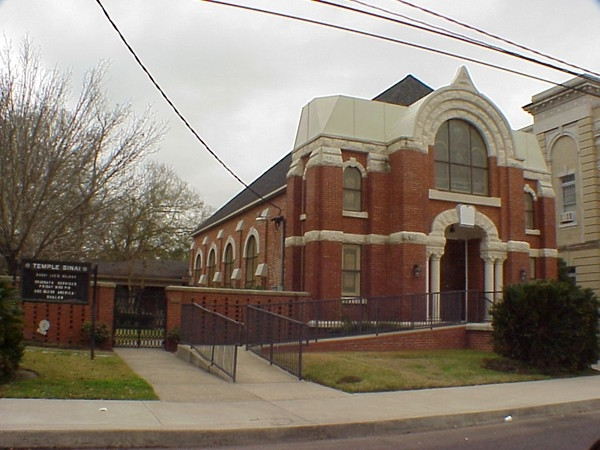 Temple Sinai is another historic building in the downtown area