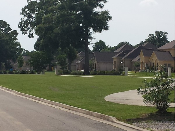 Another view of Green Trails Subdivision