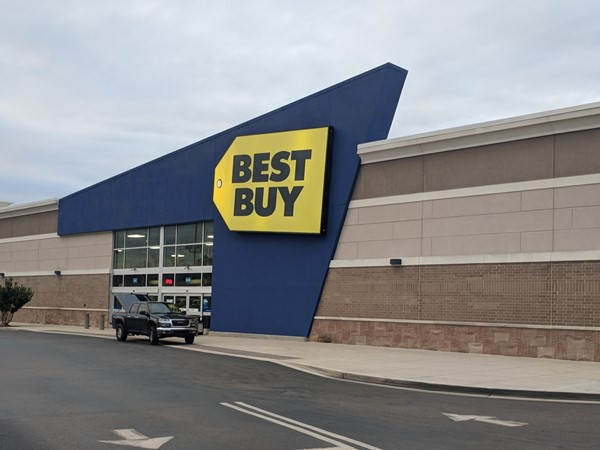 Best Buy is located at Hammond Square and is an electronic retailer