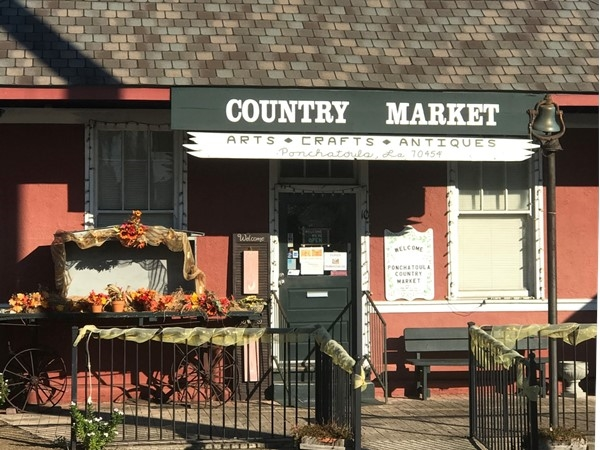 Country Market is in the old train depot