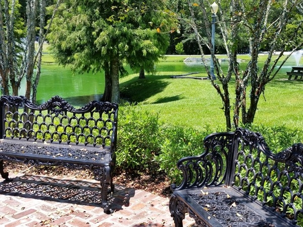 Great spot to wait for your table at Sammy's Grill in Prairieville