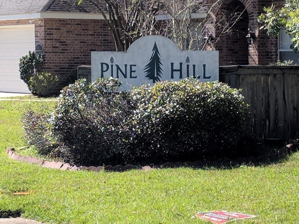 Pine Hill Subdivision, located at the corner of Industrial Parkway and N. Coburn Rd in Hammond