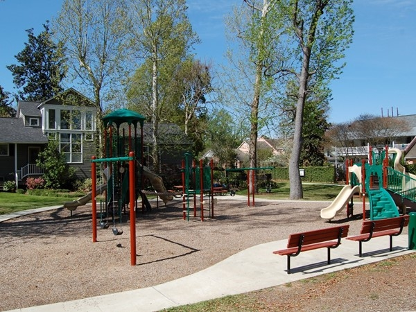 College Town neighborhood park is a wonderful, petite park making life even sweeter in College Town