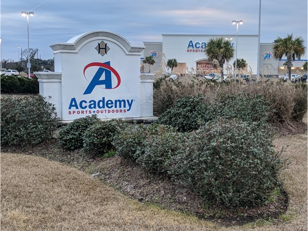 Academy Sports and Outdoors is located at Hammond Square