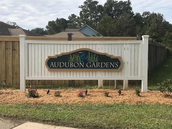 Welcome to Audubon Gardens