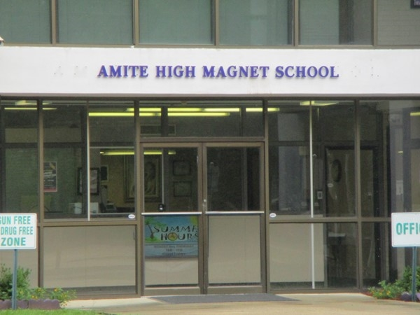 Amite High Magnet School has a  student to teacher ratio of 14 to 1