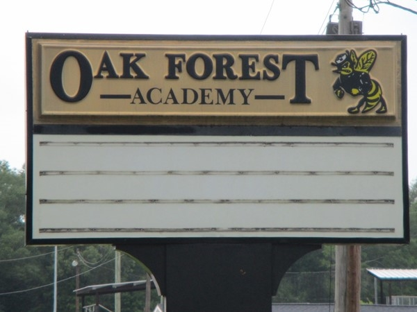 Oak Forest Academy is known for their football/baseball teams
