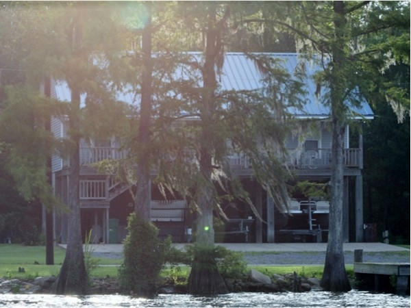 There are beautiful homes and camps located along the Calcasieu River