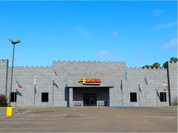 Excalibur Family Entertainment Center is located off of Cheniere-Drew Road in West Monroe