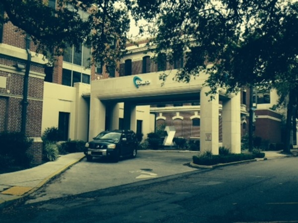 Touro Hospital located in Uptown New Orleans on Prytania Street