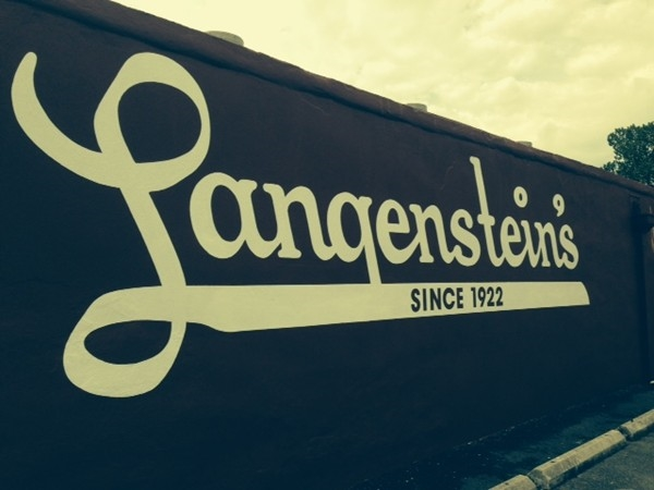 Langenstein's Supermarket in Uptown New Orleans