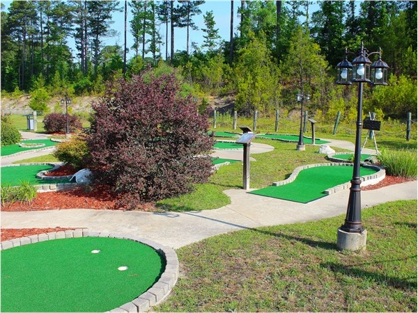 The Excalibur Family Entertainment Center offers a gorgeous putt-putt course