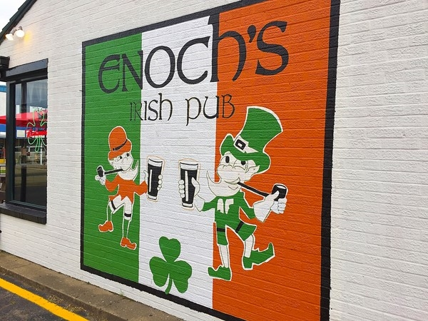 Established on St. Patrick's Day in 1980, Enoch's Irish Pub offers great food and live music