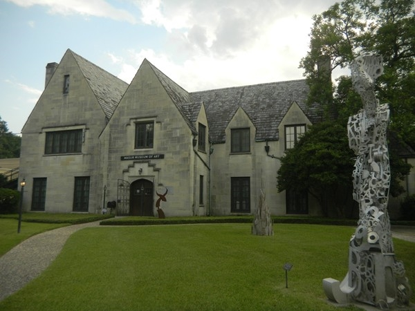 The Masur Museum of Art features a 1920's Tudor-style design and offers a permanent art collection