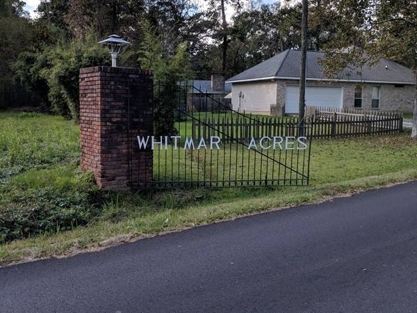 Welcome to Whitmar Acres