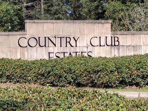 Country Club Estates, gated, located in Hammond, close to Oak Knoll Country Club